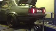 Жесток Anti lag ! Bmw E30 M50 Turbo
