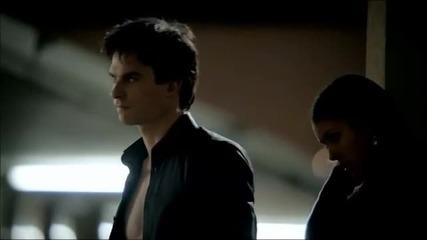 3x19 Elena kisses Damon [the Vampire Diaries]