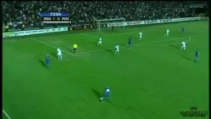 Молдова - Финландия 2:0