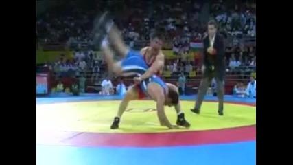 Wrestling ( Beijing 2008 ) Greco Ronam Wrestler
