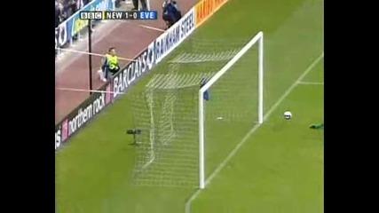 Newcastle Butt - Everton 1 - 0