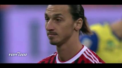 10-те най-луди гола на Ибрахимович-2012