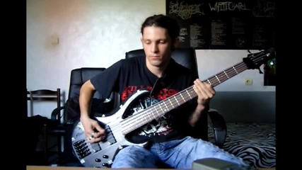 Killswitch engage - the arms of sorrow bass cover