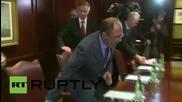 Лавров на среща в Брюксел с генералния секретар на Съвета на Европа