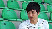 Като - първият японец участвал за български отбор в Европа