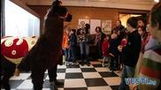 Деца храниха алпака в Природонаучния музей