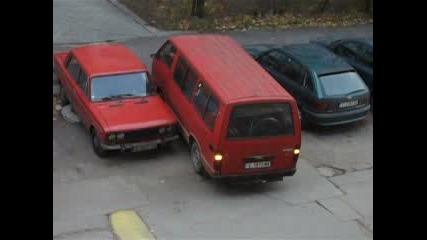 Паркиране И Шофиране На Бус