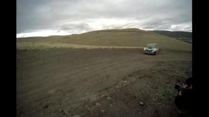 Ken Block on Gravel with Subaru Wrx