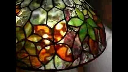 Готини лампи с витражна техника