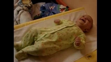Бебе Габи Преди Баня
