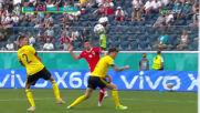 Магическото изпълнение на Роберт Левандовски срещу Швеция