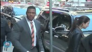 Michael Strahan -- Body-to-Body Contact Sport