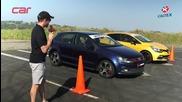 Drag Race - Renault Clio Rs vs Volkswagen Polo Gti