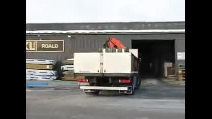 Страхотен Дрифт с камион