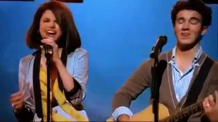 Jonas Brothers Miley Cyrus Demi Lovato And Selena Gomez - Send It On