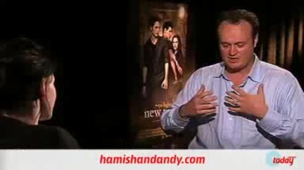 Hamish & Andy Interview with Robert pattinson and Kristen Stewart Part2 New Moon