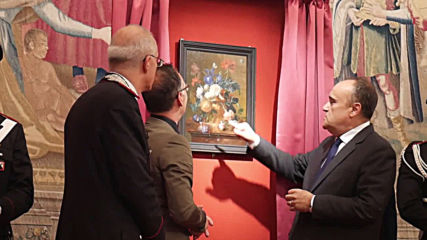 Italy: Germany returns Italian painting stolen by Nazis 75 years ago