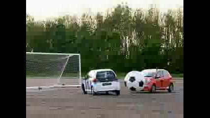 Top Gear - Toyota Aygo car football - Bbc