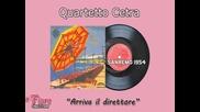 Sanremo 1954 - Quartetto Cetra - Arriva il direttore