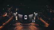 Ndk at Night Bulgaria-ндк през нощта снимано с дрон Phantom 4 pro