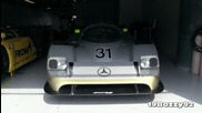Sauber Mercedes C11 Group C Pure Sound at Monza Circuit