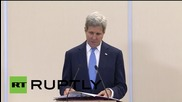 """Russia: Poroshenko should """"think twice"""" before attacking Donetsk Airport - Kerry"""