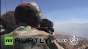Syria: Hezbollah, Syrian Army battle for opposition stronghold Zabadani