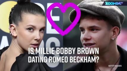Тийн мечта: Мили Боби Браун и Ромео Бекъм се срещат?