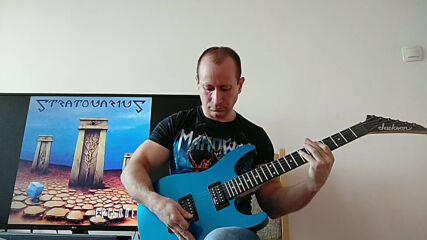 Oki Guitar Player-Stratosphere (Stratovarius cover)