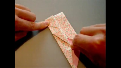 Как се прави кутия от хартия *оригами*