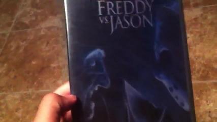 Култовият филм Фреди срещу Джейсън (2003) на D V D