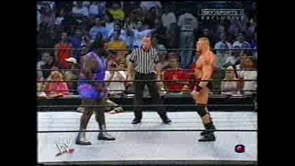 Wwe - Mark Henry Vs. Brock Lesnar