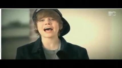 Justin Bieber singing Never Let You Go [acoustic]