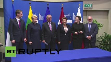 Belgium: Poland-Baltic pipeline deal signed under EC supervision