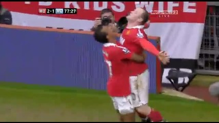 Феноменален Гол На Рууни | Manchester United 2:1 Manchester City