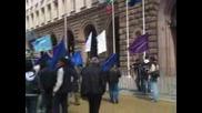 """Работниците от """"Кремиковци"""" отново протестират"""