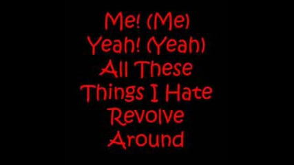 Bullet For My Valentine - All These Things I Hate Lyrics