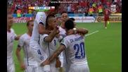 Испания 0:2 Чили (бг аудио) Мондиал 2014