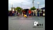 Hip Hop muzik +skate trick