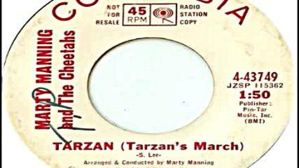 Marty Manning And The Cheetahs - Tarzan (tarzan`s March) 1966