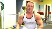 Тренировка за гърди и бицепс - 1 част