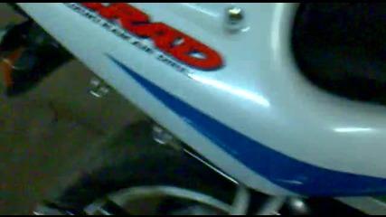 Suzuki Gsxr 600 Srad Благодарение На Георги Георгиев Мото Гърнета