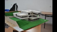 макет на къща М 1:50 (работен модел)