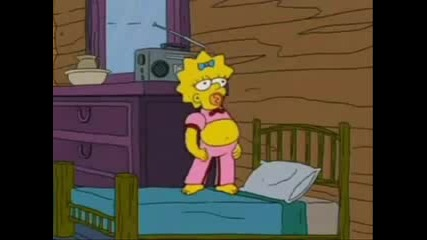 Maggie Simpson as Britney Spears