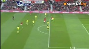 Манчестър Юнайтед - Норич 4:0 / Кагава изригна с хеттрик (02.03.2013)