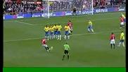 Ronaldo 1 - 0 - Man Utd V Stoke City