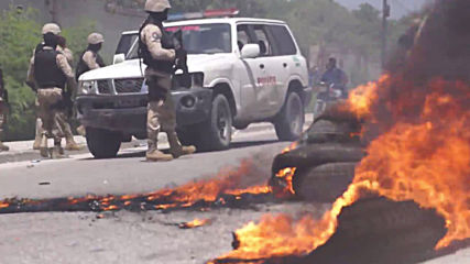 Haiti: Clashes erupt between anti-government protesters and police