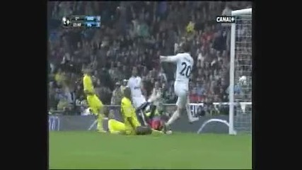 Liga Bbva 2009 - 2010 Real Madrid Villareal 6 - 2 [all Goals] [hq]