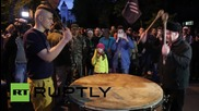 Ukraine: Right Sector call for 'indefinite' Kiev protest after Mukachevo attack