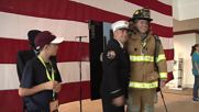 USA: 'Memorial Stair Climb' honours firefighters who lost their lives in 9/11